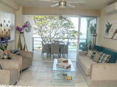 Photo for Magnificent Ocean Front Brand New 1 Bedroom Steps from Los Muertos Beach