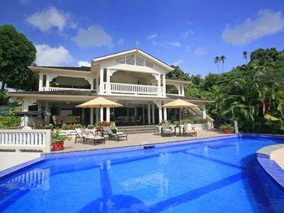 Photo for Walk to the Quaint Marigot Bay Village, Beach nearby, Cook 3x/week included, AC, Free Wifi