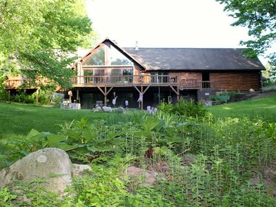 Photo for Aubert Den Main Lodge Secluded in the Manistee National Forest
