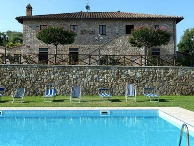 Photo for Holiday residence Country House sulla Via degli Etruschi, San Feliciano  in Nördliches Umbrien - 3 persons, 1 bedroom