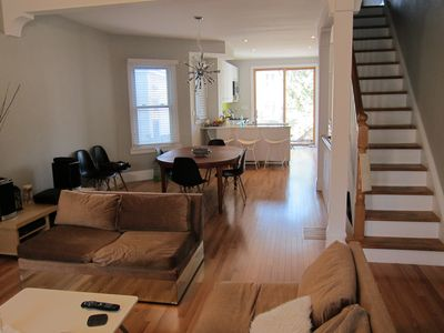Photo for Downtown Family-friendly home for rent in Toronto's trendy Leslieville