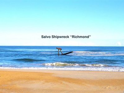 Photo for Cape Hatteras Beach Bungalow 2 br 1 ba Dog Ok Sleep 4 Footsteps to Ocean & Sound