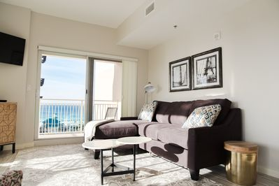Coastal Modern Furnishings throughout