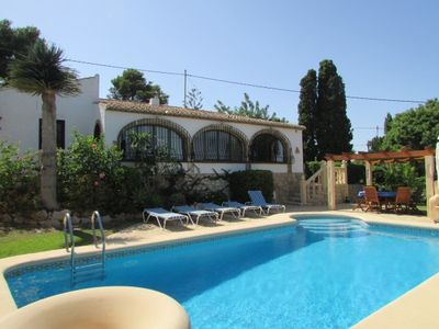 Photo for Fully detached, single family home with own pool in a large garden