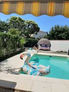 Photo for Villa 3 bedrooms pool wood stove in Toulouse