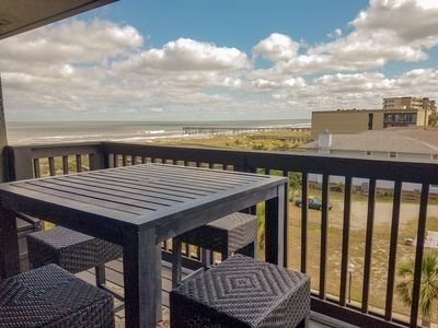 Photo for Sand Dollar Villas Unit 305 is a fully equipped beachfront condo