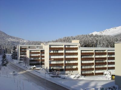 Photo for One bedroom Apartment, sleeps 5 in Lenzerheide with WiFi