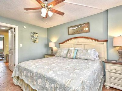 Photo for Ocean View, Balcony, Beach Access, Pool, Hot Tub, Lazy River, Elevator, Free Wifi & Parking, Kitchen