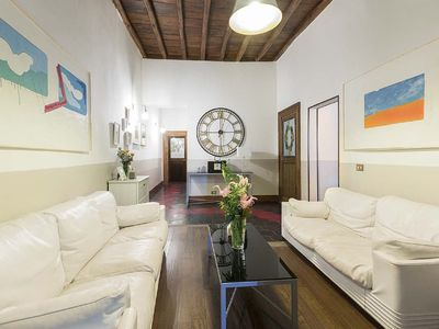 Photo for Campo de Fiori Spacious apartment with 5 bedrooms, 4 floor, elevator
