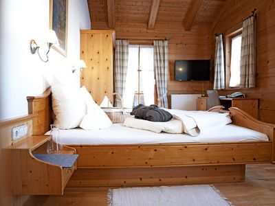 Photo for Organic Chalet Double Room Edelkastanie - moor & more, Bio-Kurhotel