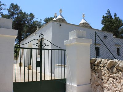 Photo for Trulli immersed in the countryside of Martina Franca Itria Valley