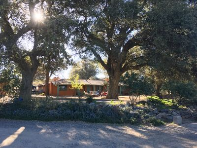 Photo for 6 Acre Ranch w 5 Casitas+Pool/Hot Tub - 30 min to Julian (Perfect for Groups!)