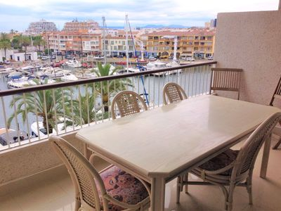 Photo for BEAUTIFUL MODERN APARTMENT VIEWING HARBOR / SEA PORT GREC EMPURIABRAVA