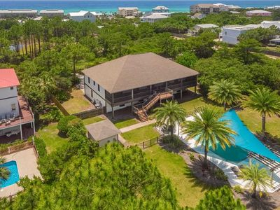 Photo for Crawdaddy's Casa: 5 BR / 3.5 BA home in Dune Allen Beach, Sleeps 18