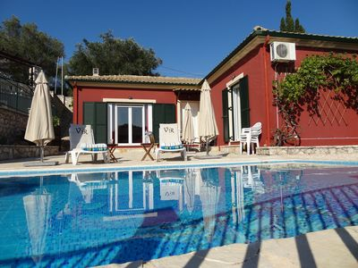 Photo for Holiday paradise with valley views and private pool, just 10 minutes to the nearest beach