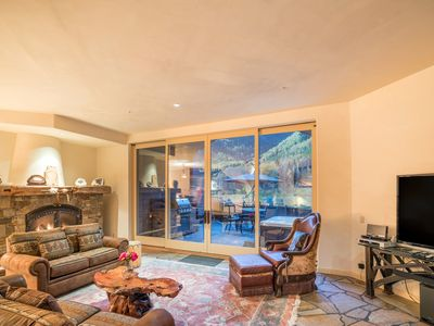 Photo for RIVERCROWN 7 - Luxury Townhome, Downtown Telluride, VIEWS & Sauna & 2 Hot Tubs