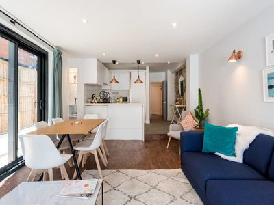 Photo for Quirky 2bed apt w/ private patio in West Hampstead