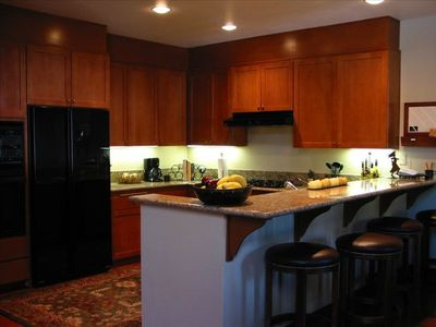 The Kitchen - Spacious and Fully Equipped to Prepare your Perfect Meals