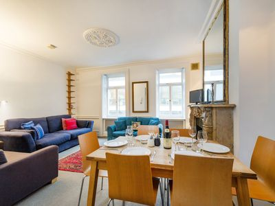 Photo for Triplex Apartment, Scala Street, West End, Central London