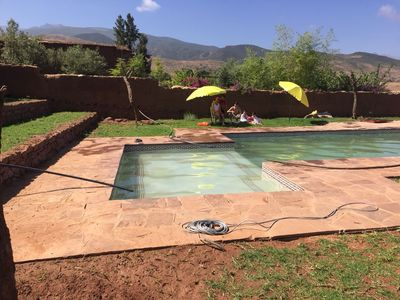 Photo for Villa with private swimming pool in Atlas Mountains - perfect for families