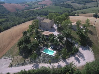 Photo for Casa Collinetta, charming, newly renovated country house in the Marche