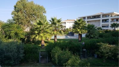 Photo for BEAUTIFUL T4 PRIVATE GARDEN + SWIMMING POOL- NEAR BEACHES