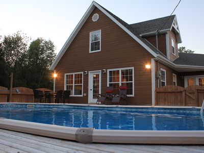 Photo for Beautiful Vacation Home Near Brackley Beach With 37 Foot Swimming Pool.