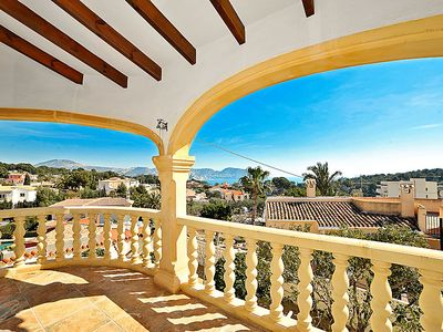 Photo for Vacation home Sally in Moraira - 11 persons, 4 bedrooms