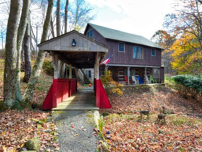 Photo for Enjoy a unique, rustic get-away between Banner Elk and Beech Mountain.