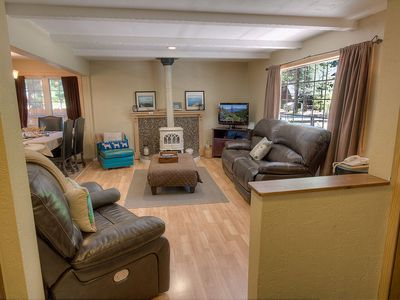Photo for Updated Cabin w/Hot Tub, Fireplace, BBQ, Fenced Yard, in Town (CYH0741)