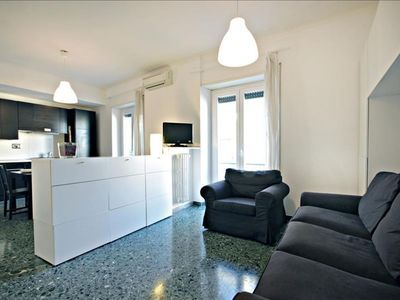 Photo for Lattanzio II apartment in Cipro with WiFi, integrated air conditioning, balcony & lift.