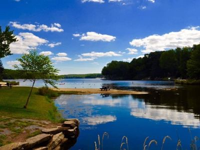 Photo for Renovated Lake Ariel Home in The Hideout – Perfect Getaway!