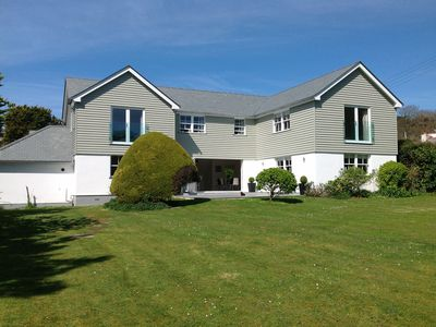 Photo for Contemporary 5 Bedroom House, Metres from Daymer Bay Beach