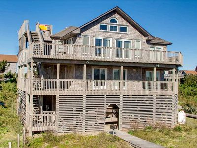 Photo for Captivating Oceanfront Views Avon-Cmty Pool, Hot Tub, Walk to Pier + Free Passes