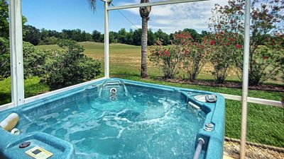 Photo for Wonderland! A bubbling Hot Tub under a Starry sky no rear neighbors PET FRIENDLY
