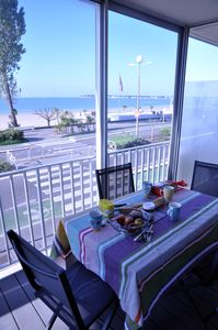 Photo for La Baule - Front Beach and sea - panoramic view - 3 bedrooms 65M2-
