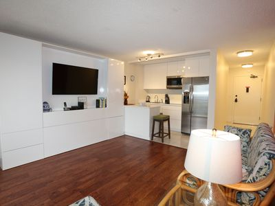 Photo for NEW, COMPLETELY REMODELED 24TH FLOOR DELUXE STUDIO - 2 BLOCKS TO WAIKIKI BEACH