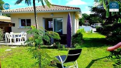 Photo for New villa classified 3 * - Swimming pool - beaches Lake Cazaux and Dune du Pilat