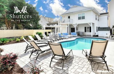 Photo for Shutters By The Beach | Across From Beach | Private Pool | Ensuite Bathrooms
