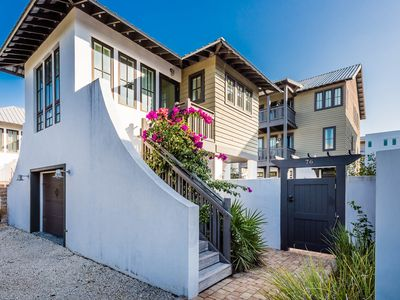 Photo for Private Pool! Walking Distance to Rosemary Shops/Dining! Steps from the Beach