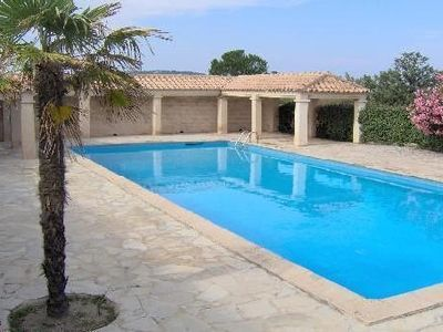 Photo for BEAUTIFUL APARTMENT ON BEACH IN PROVENCAL PAMPELONNE RAMATUELLE
