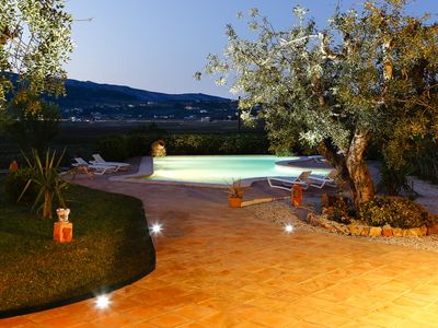 Photo for Villa with spectacular views of the valley and the villages of Tug and Llíber