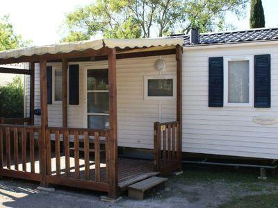 Photo for Camping Les Amandiers **** - Mobile Home 3 Rooms 4 Persons