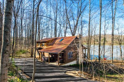 Wondrous Gorgeous Hocking Hills Lake Front Cabin Right On Lake Logan Near All The Sites Logan Best Image Libraries Sapebelowcountryjoecom