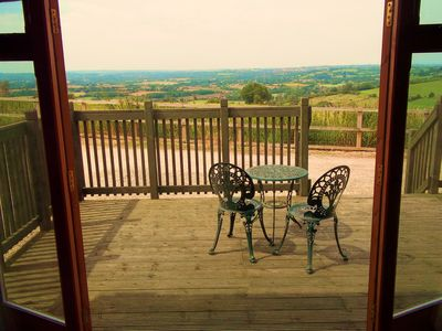 Photo for Hare Cottage - Fantastic views from cosy cottage near Bath