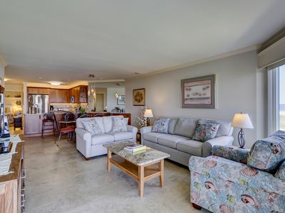 Photo for Breathtaking oceanfront views with a pool for your next beach vacation!