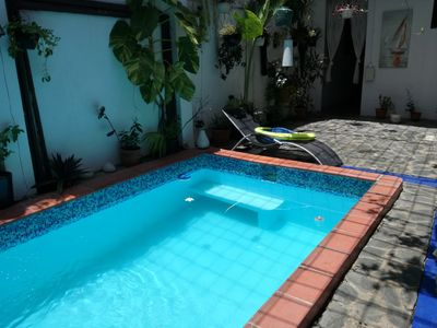 Photo for Nice home z.coloniale 3 rooms pool terrace
