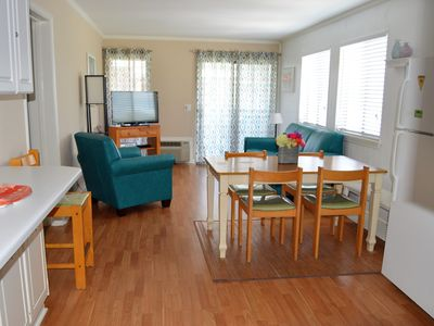 Photo for Ocean View, Pool Side, End Unit Steps from the Beach