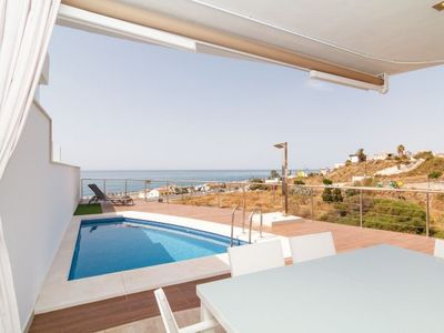 Photo for Torrox Villa, Sleeps 8 with Pool, Air Con and WiFi