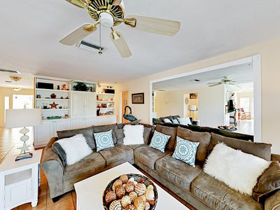 Living Room - Great for groups, a large open living space serves as the social heart of the home.